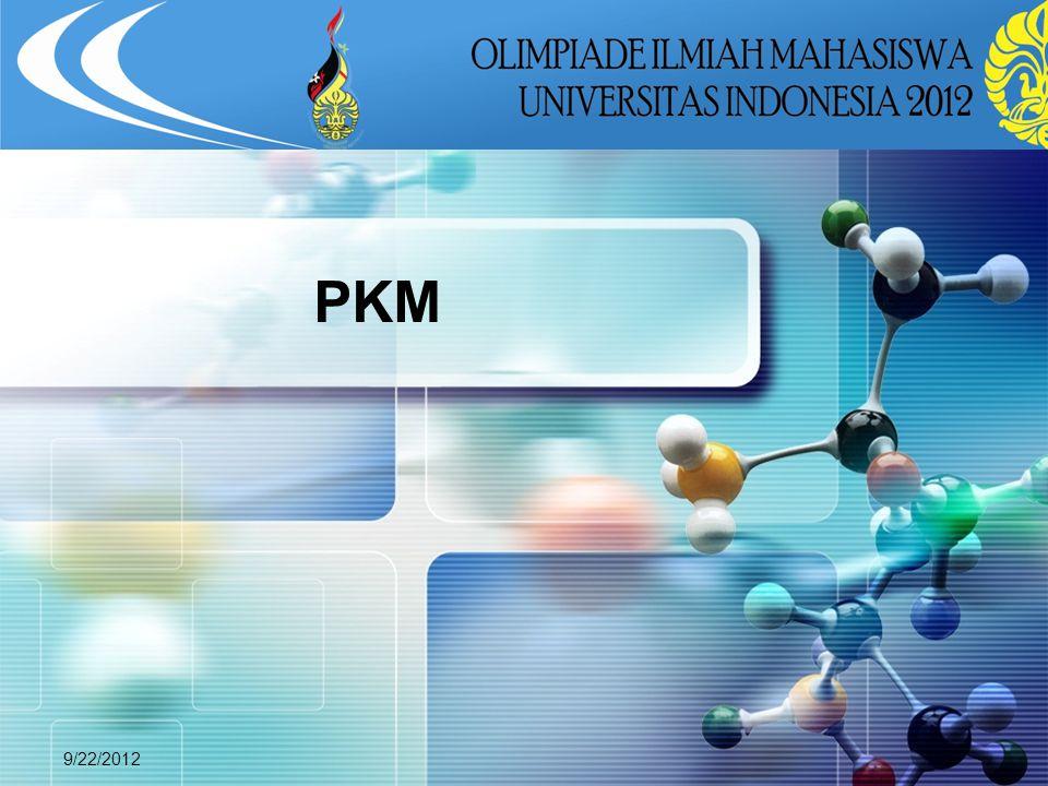 PKM 9/22/2012