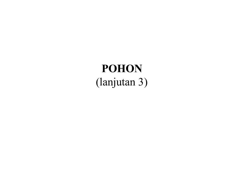 POHON (lanjutan 3)
