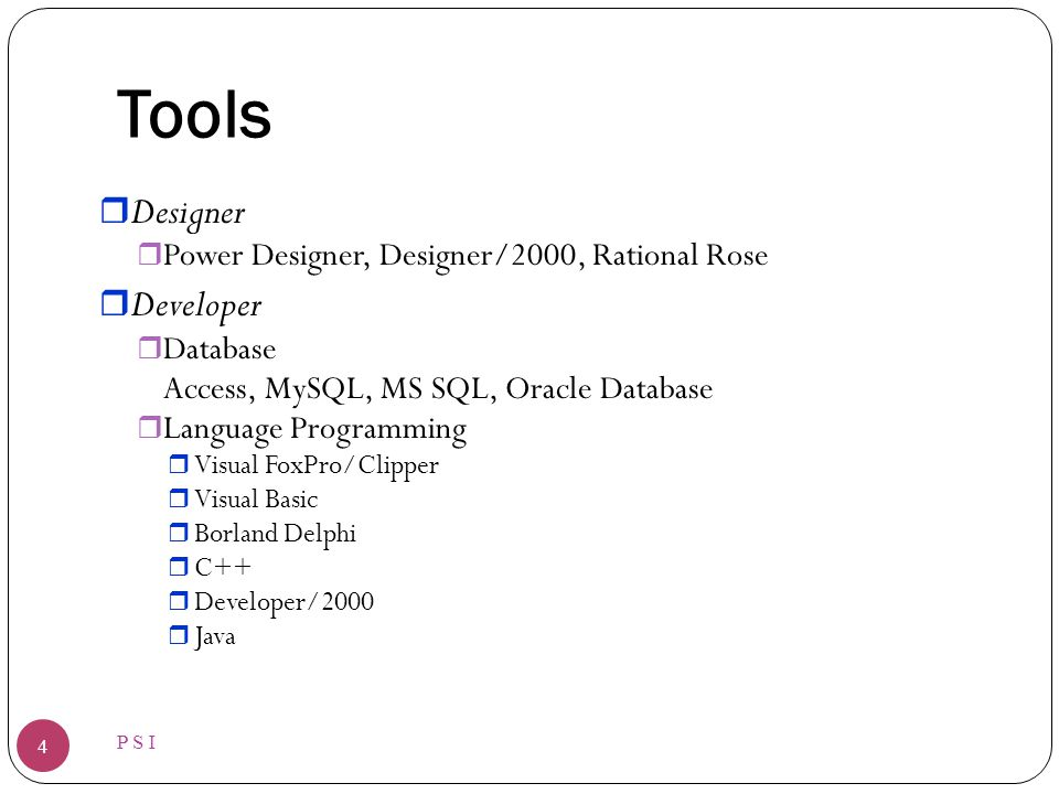 Tools Designer Developer Power Designer, Designer/2000, Rational Rose