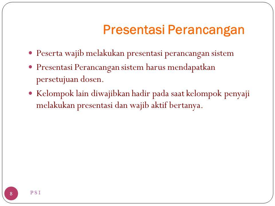 Presentasi Perancangan