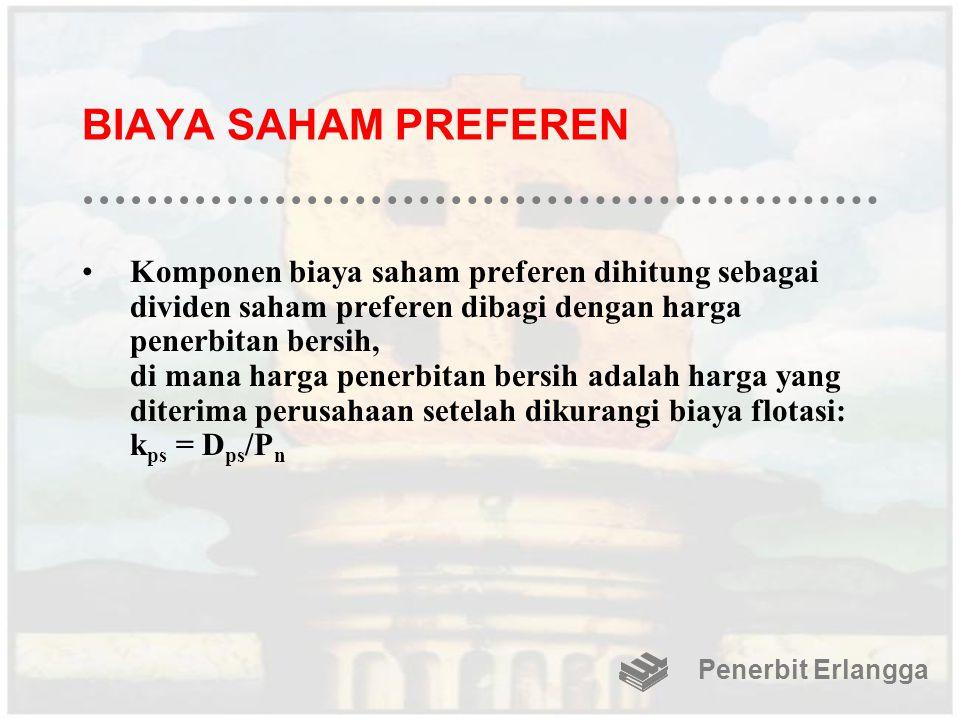 BIAYA SAHAM PREFEREN