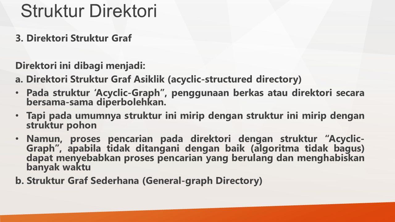 Struktur Direktori 3. Direktori Struktur Graf