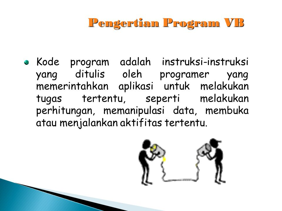 Pengertian Program VB