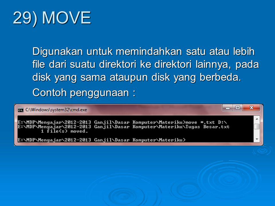 29) MOVE