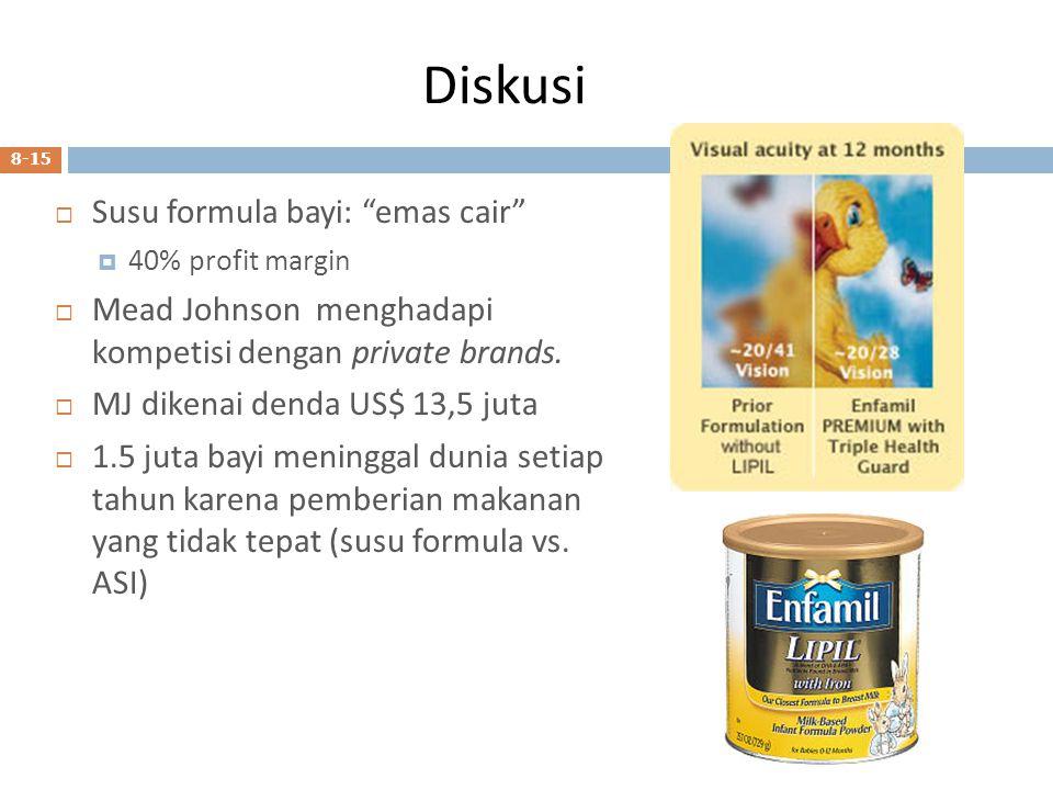 Diskusi Susu formula bayi: emas cair