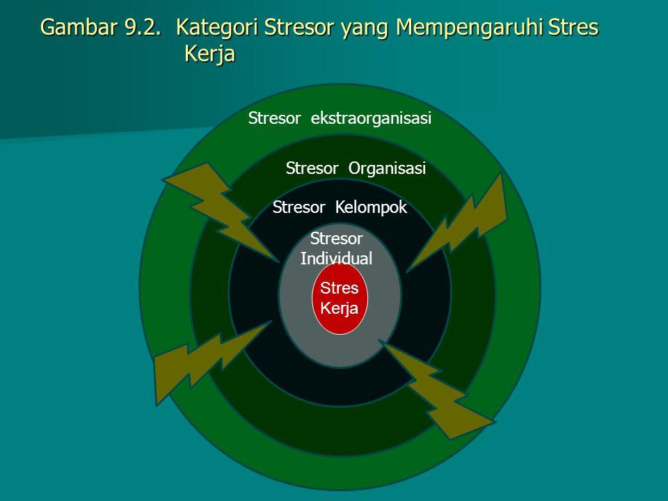 Gambar 9.2. Kategori Stresor yang Mempengaruhi Stres Kerja