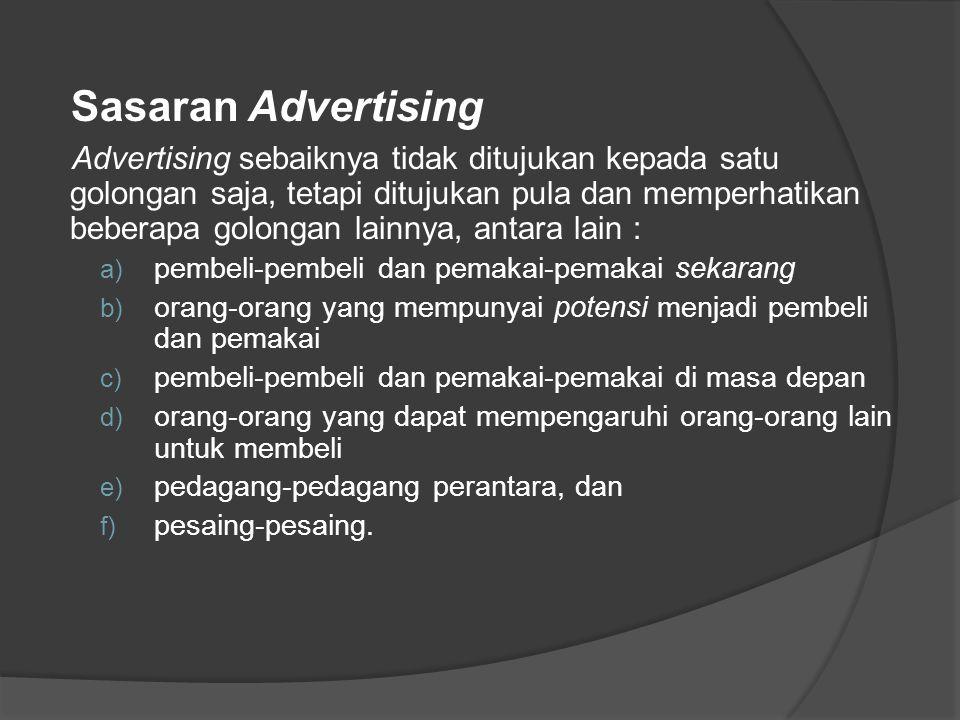 Sasaran Advertising