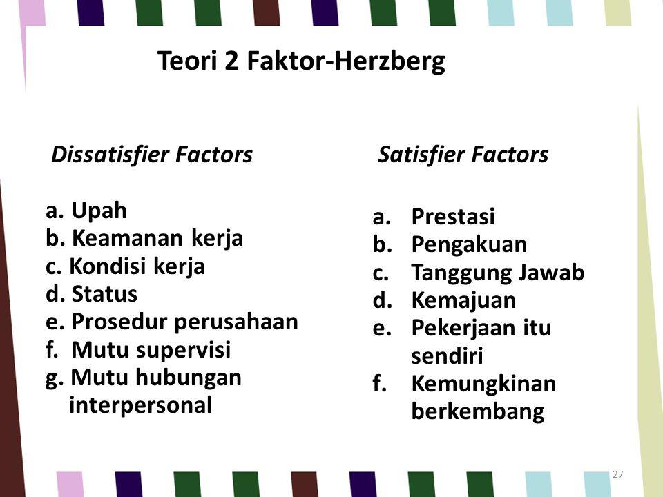 Teori 2 Faktor-Herzberg