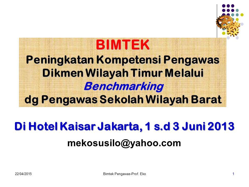 Di Hotel Kaisar Jakarta, 1 s.d 3 Juni 2013