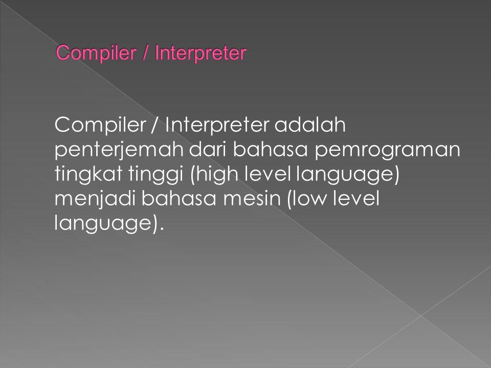 Compiler / Interpreter