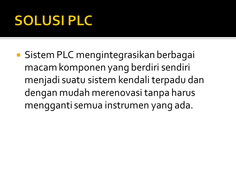 SOLUSI PLC