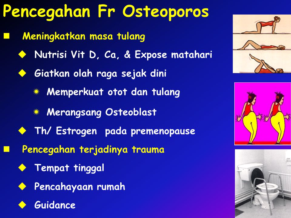 Pencegahan Fr Osteoporos