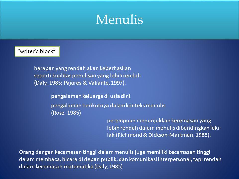 Menulis writer's block