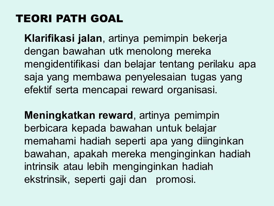 TEORI PATH GOAL