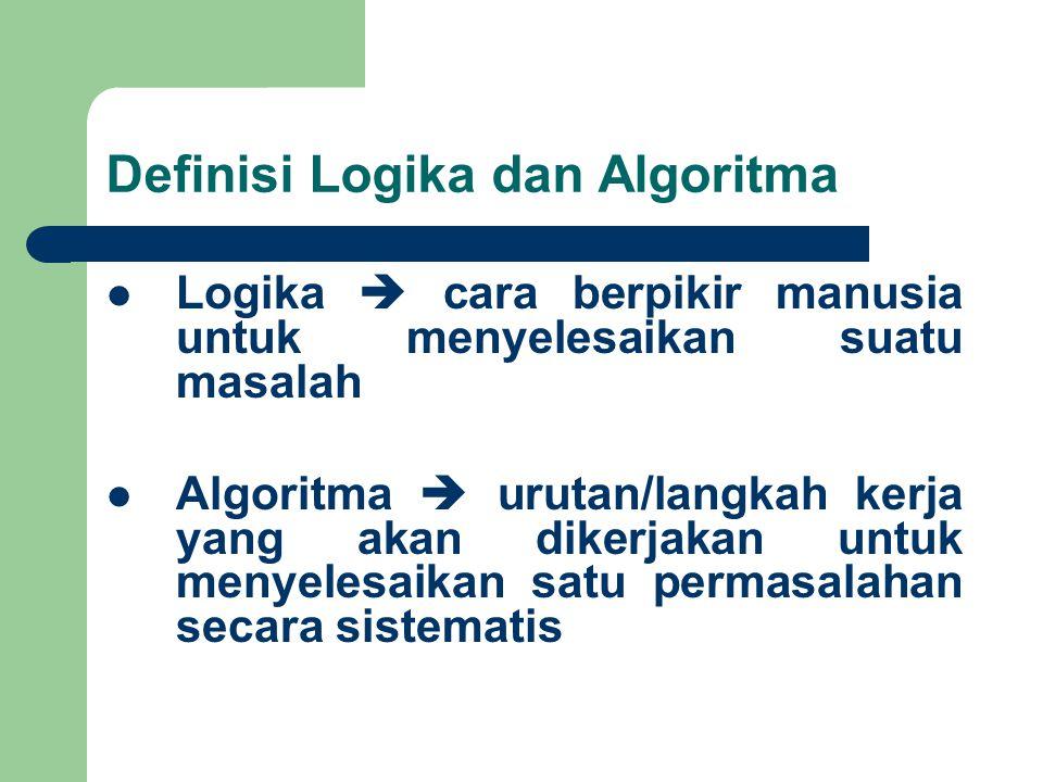 Definisi Logika dan Algoritma