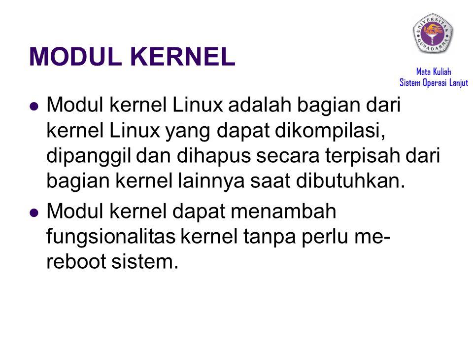 MODUL KERNEL
