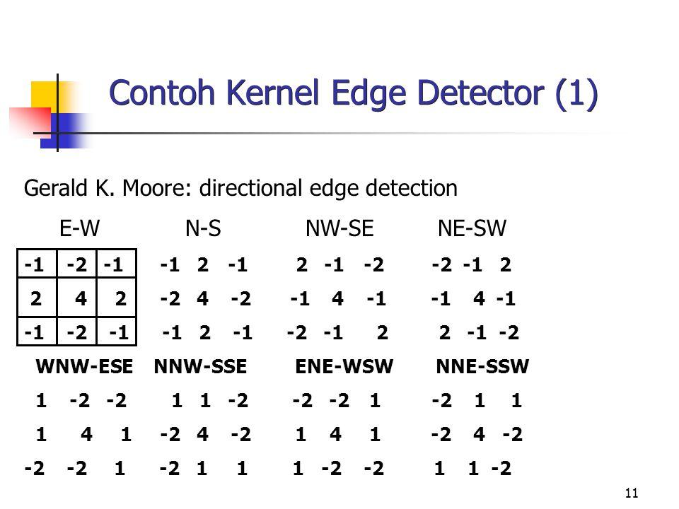 Contoh Kernel Edge Detector (1)