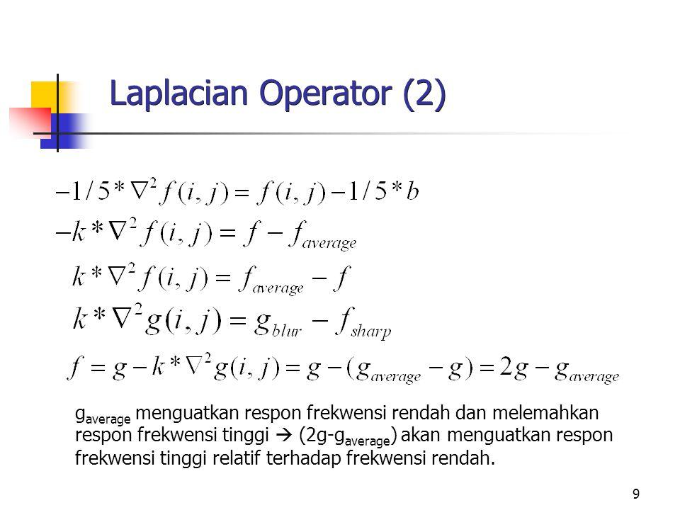 Laplacian Operator (2)