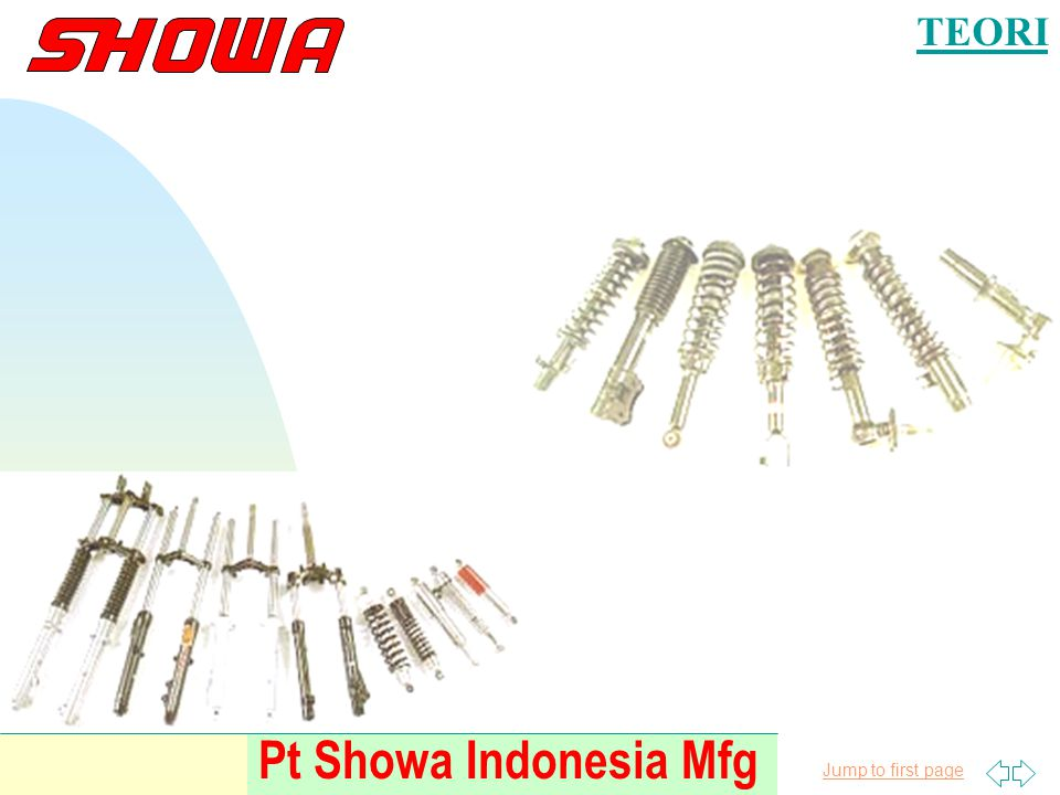 TEORI Pt Showa Indonesia Mfg