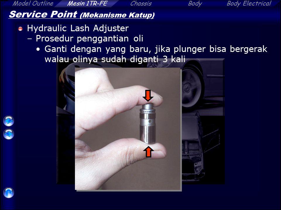 Service Point (Mekanisme Katup)