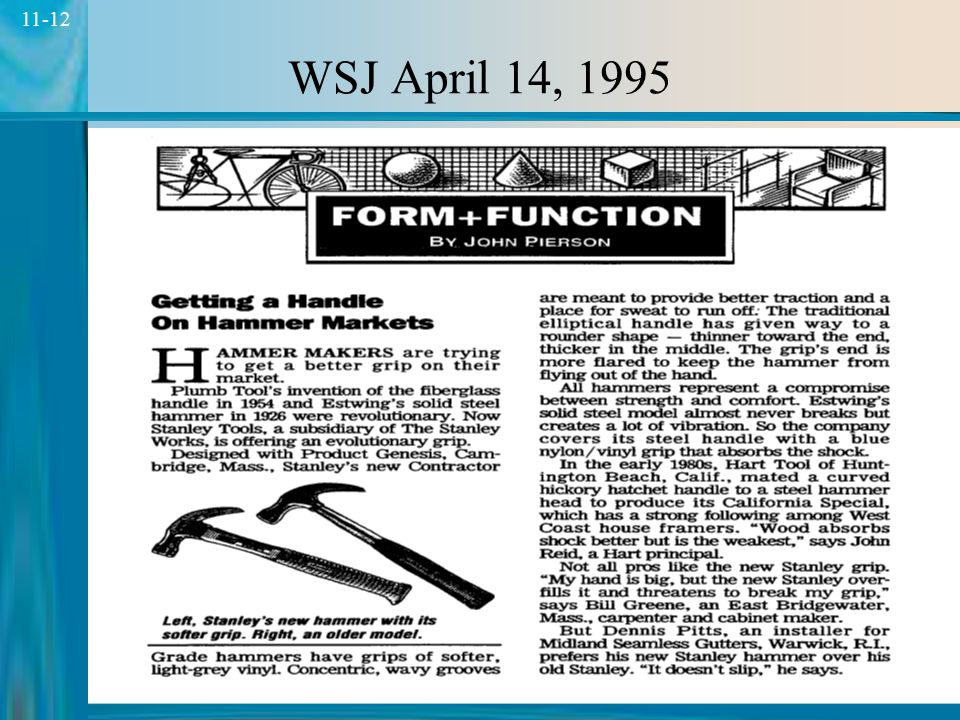 WSJ April 14, 1995