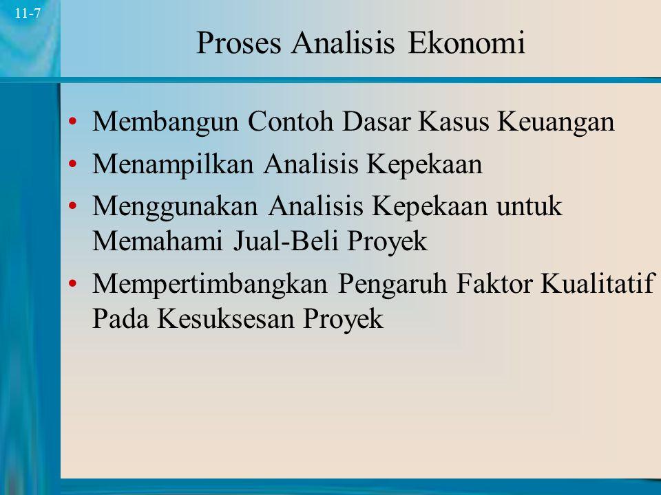 Proses Analisis Ekonomi