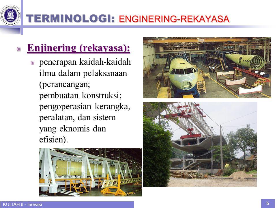 TERMINOLOGI: ENGINERING-REKAYASA