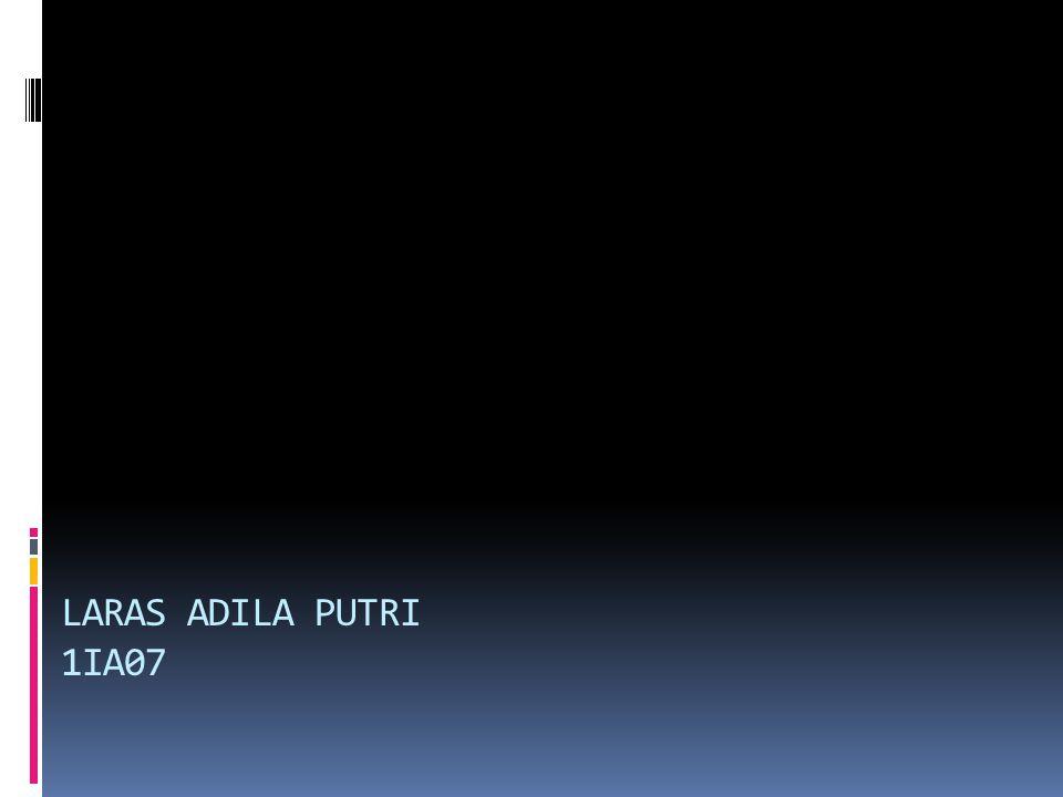 LARAS ADILA PUTRI 1IA07