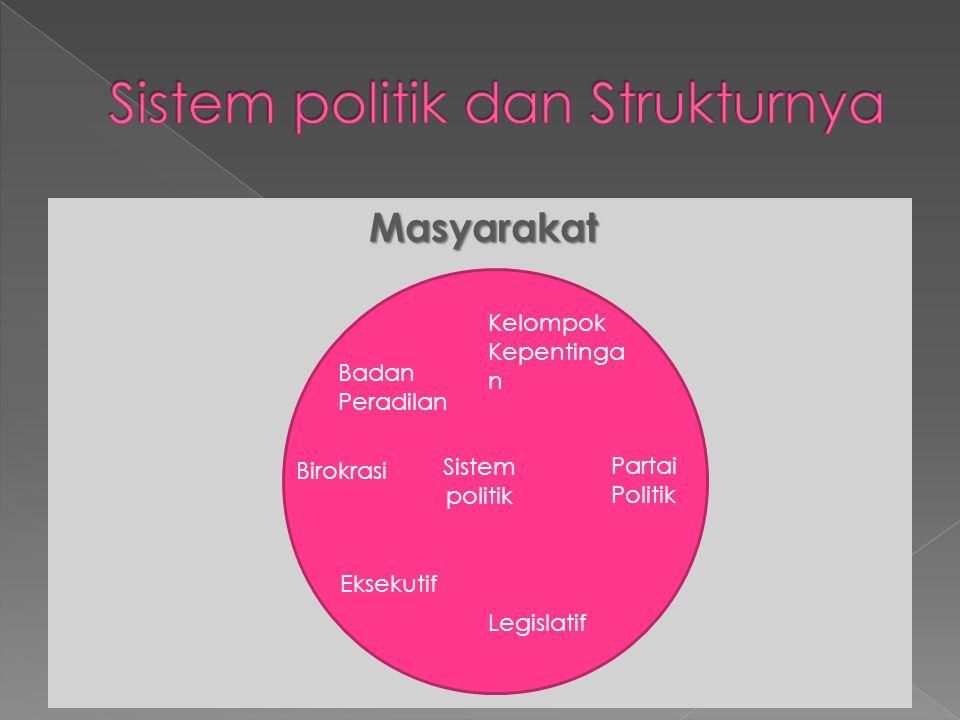 Sistem politik dan Strukturnya