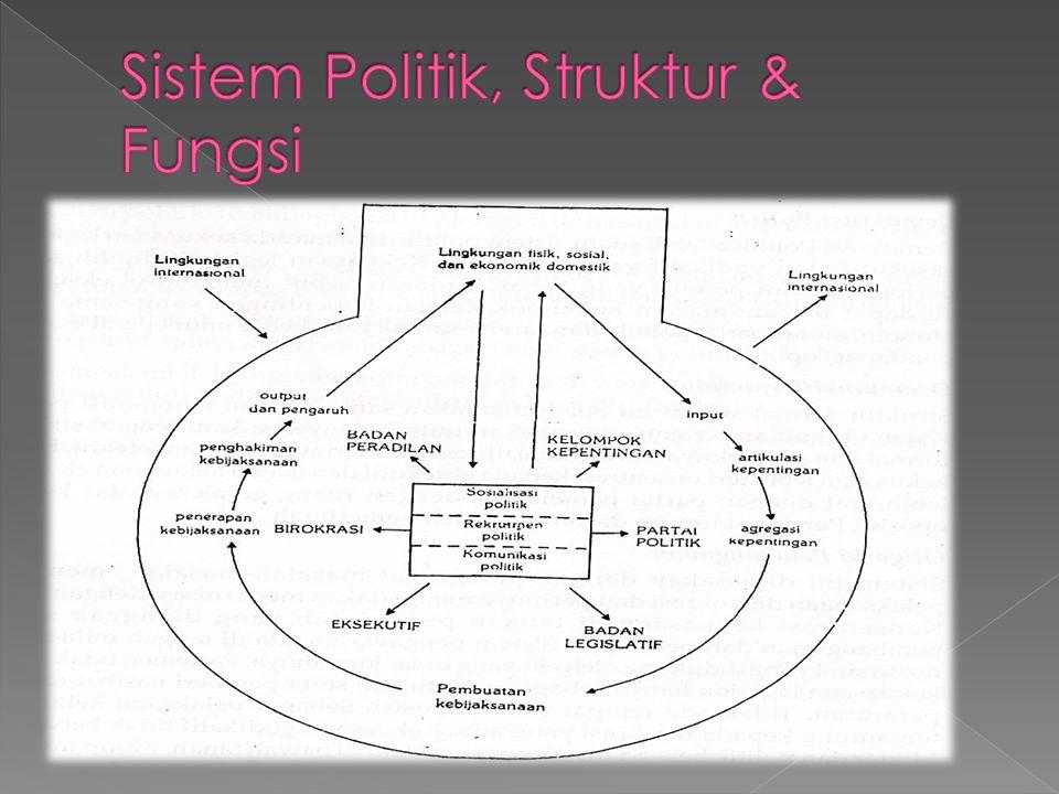 Sistem Politik, Struktur & Fungsi