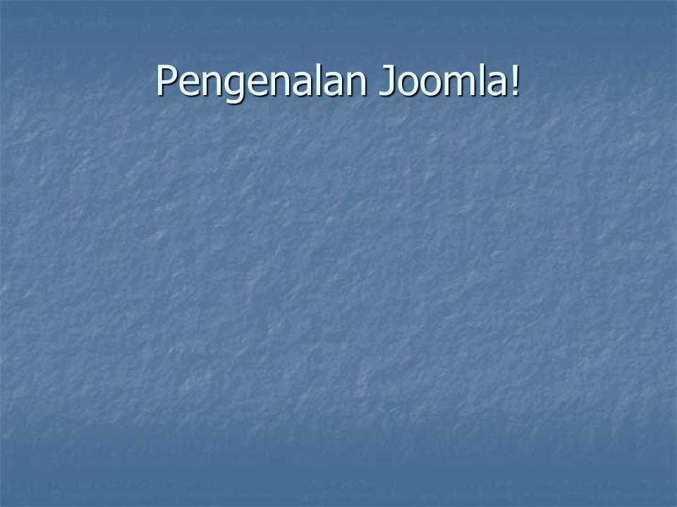 Pengenalan Joomla!
