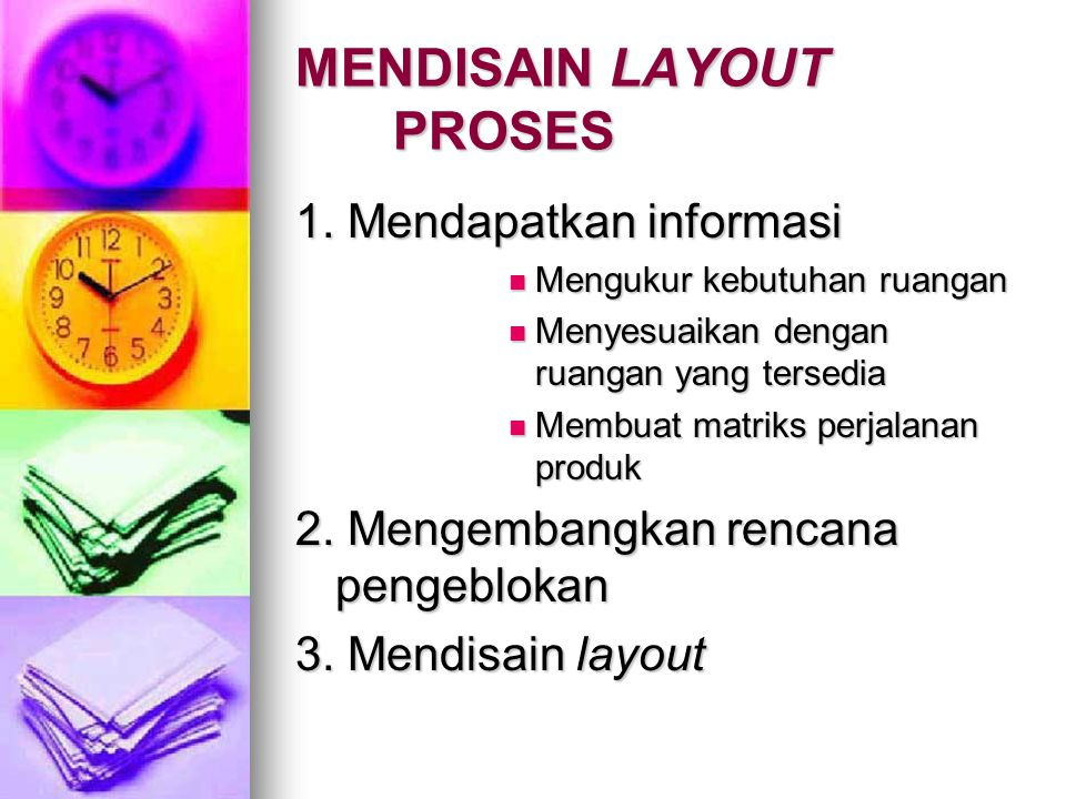 MENDISAIN LAYOUT PROSES
