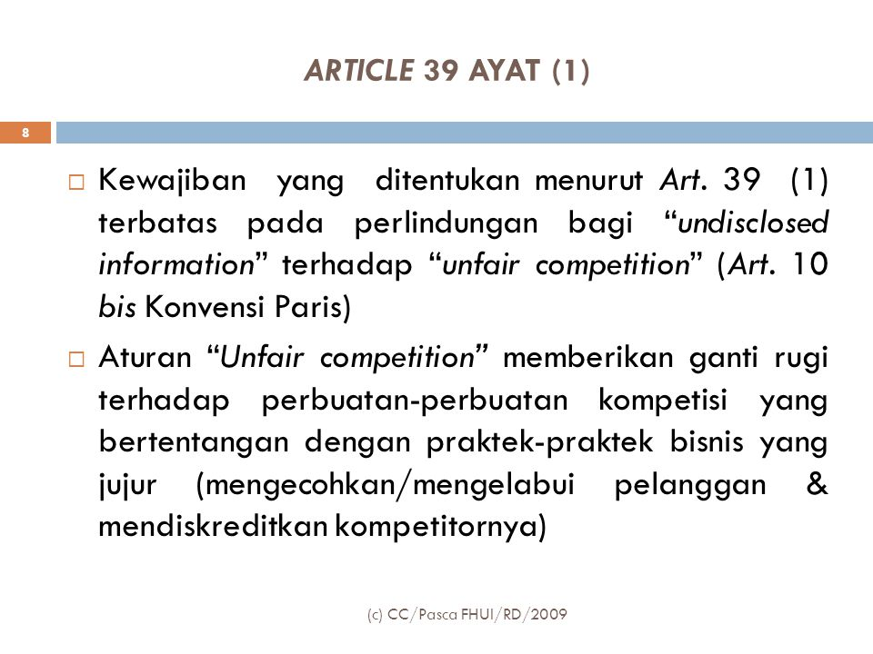 ARTICLE 39 AYAT (1)