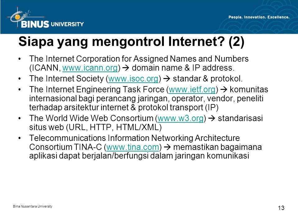Siapa yang mengontrol Internet (2)