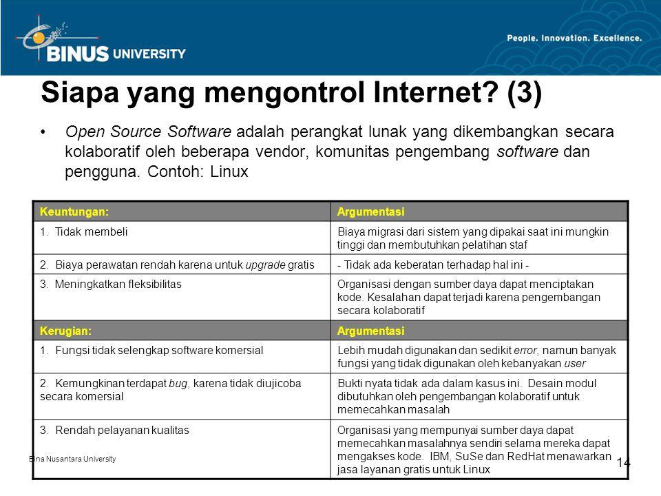 Siapa yang mengontrol Internet (3)