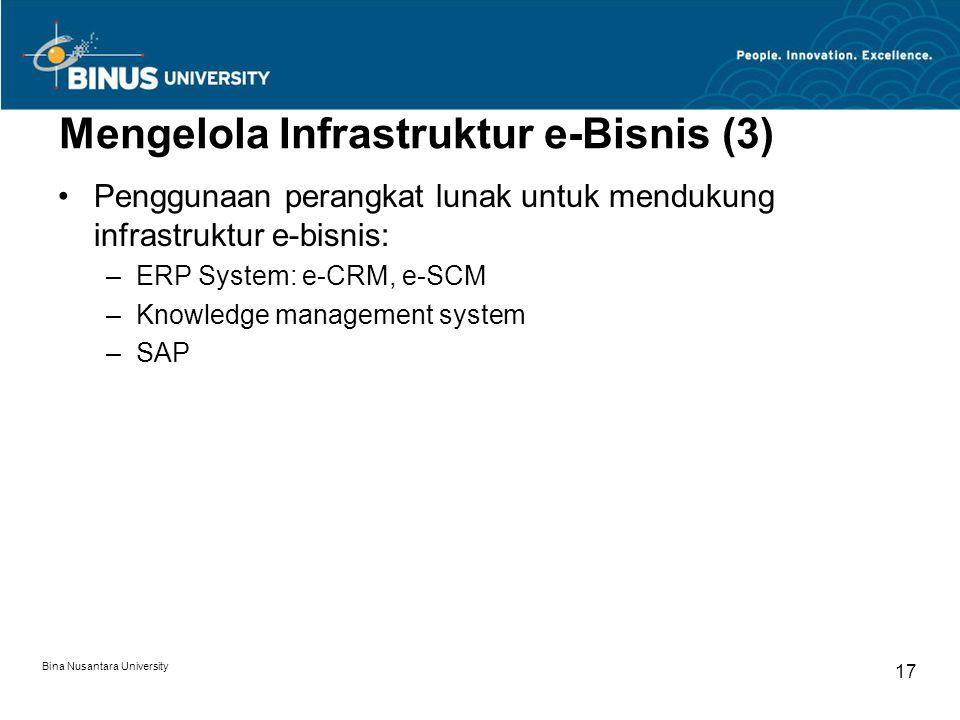 Mengelola Infrastruktur e-Bisnis (3)