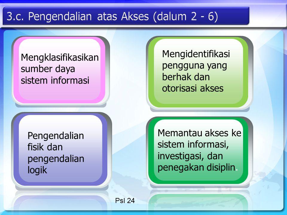 3.c. Pengendalian atas Akses (dalum 2 - 6)
