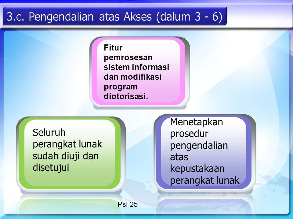 3.c. Pengendalian atas Akses (dalum 3 - 6)