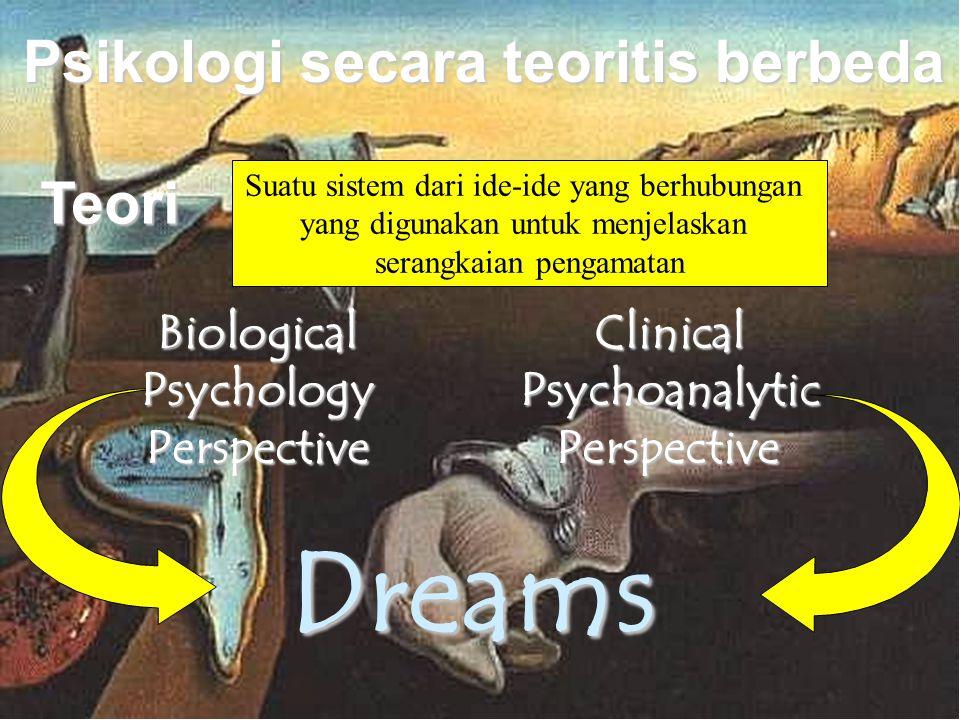 Psikologi secara teoritis berbeda