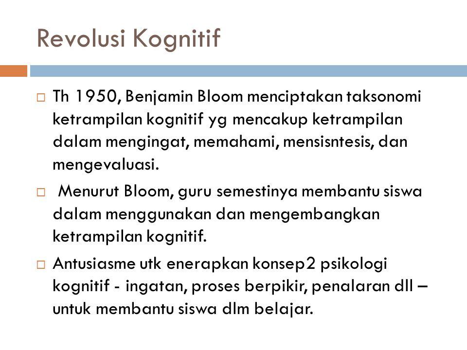 Revolusi Kognitif