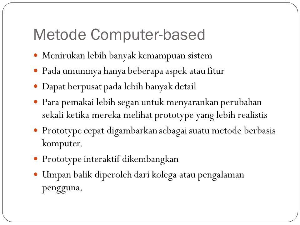 Metode Computer-based
