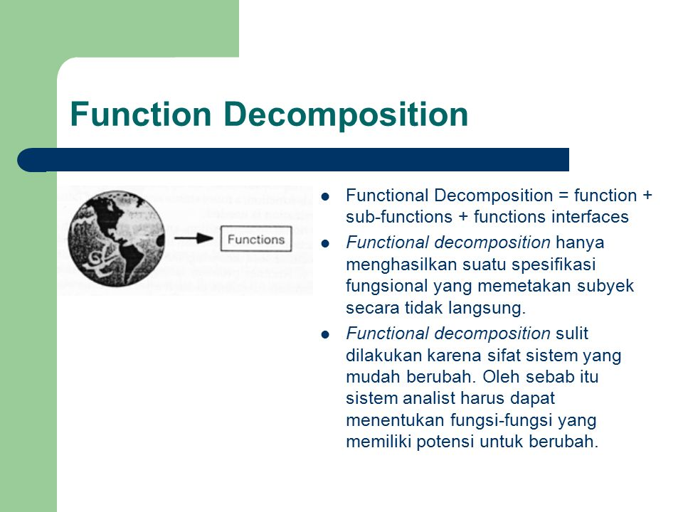 Function Decomposition