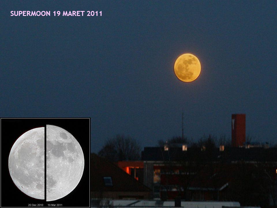 SUPERMOON 19 MARET 2011