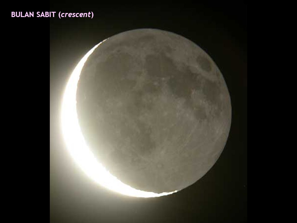 BULAN SABIT (crescent)