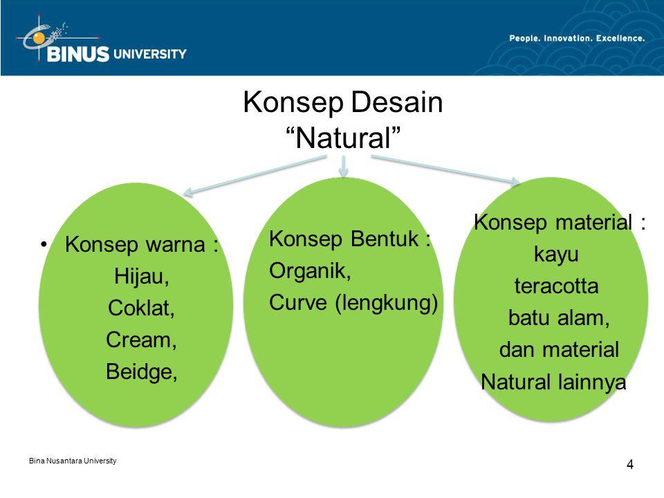Konsep Desain Natural