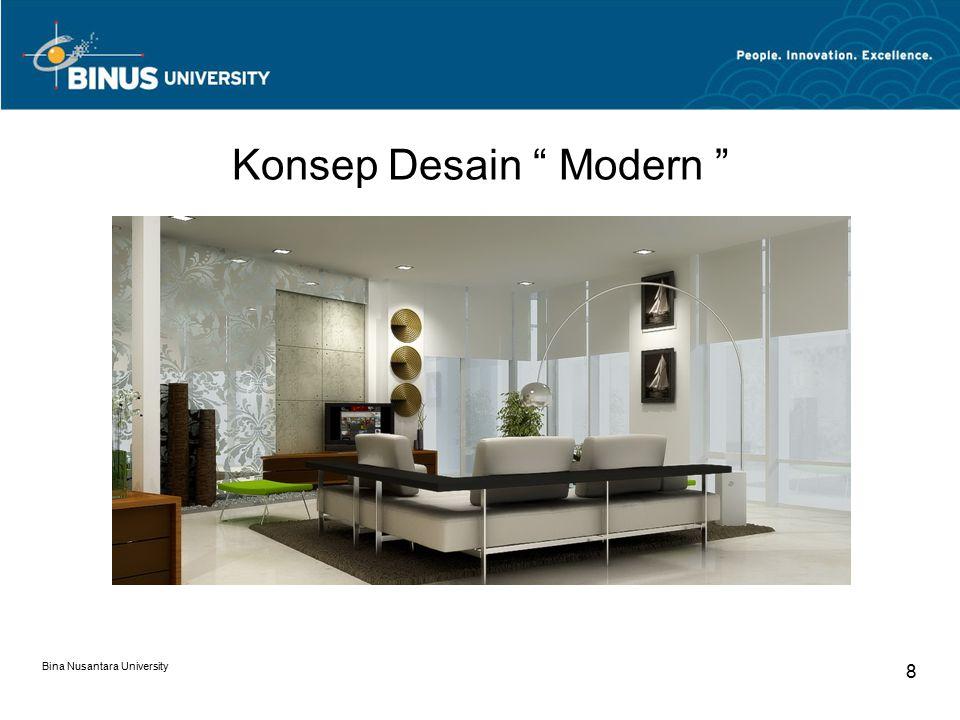 Konsep Desain Modern