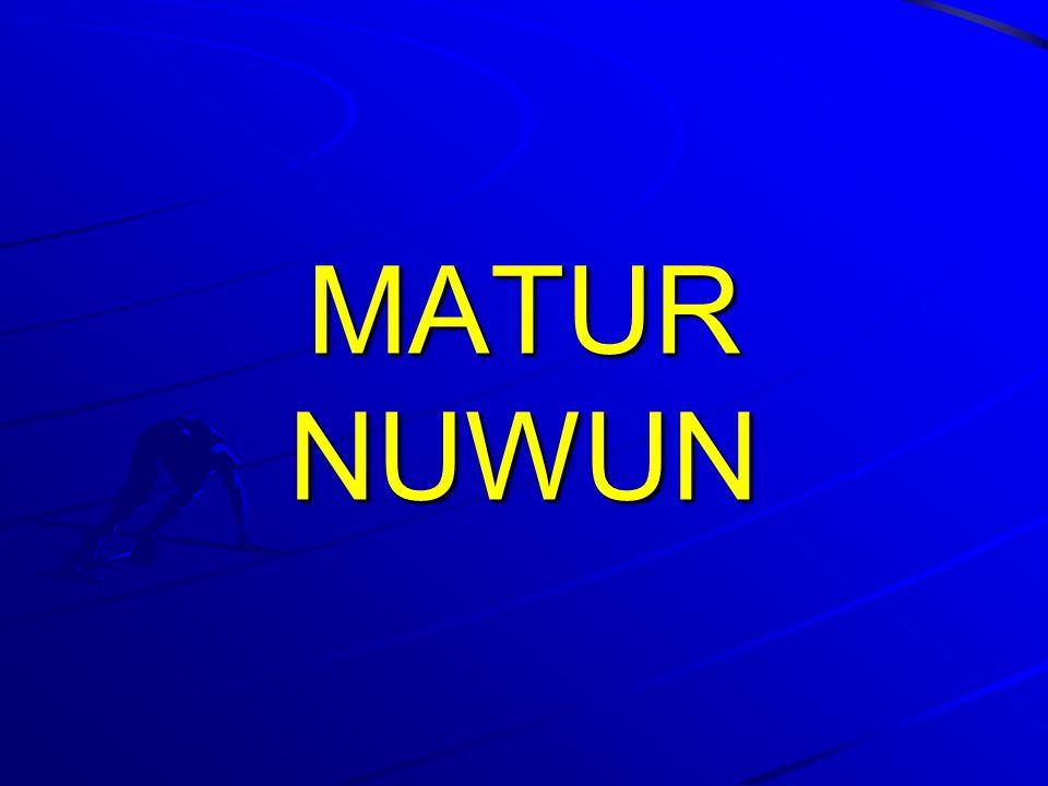 MATUR NUWUN