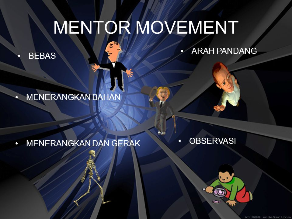 MENTOR MOVEMENT ARAH PANDANG BEBAS MENERANGKAN BAHAN OBSERVASI