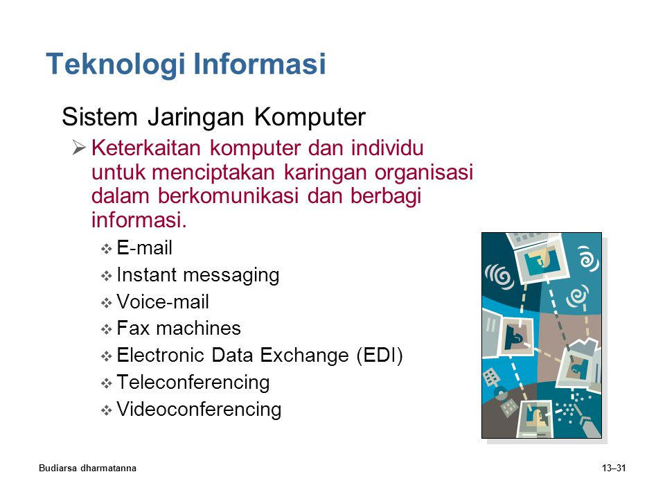 Teknologi Informasi Sistem Jaringan Komputer