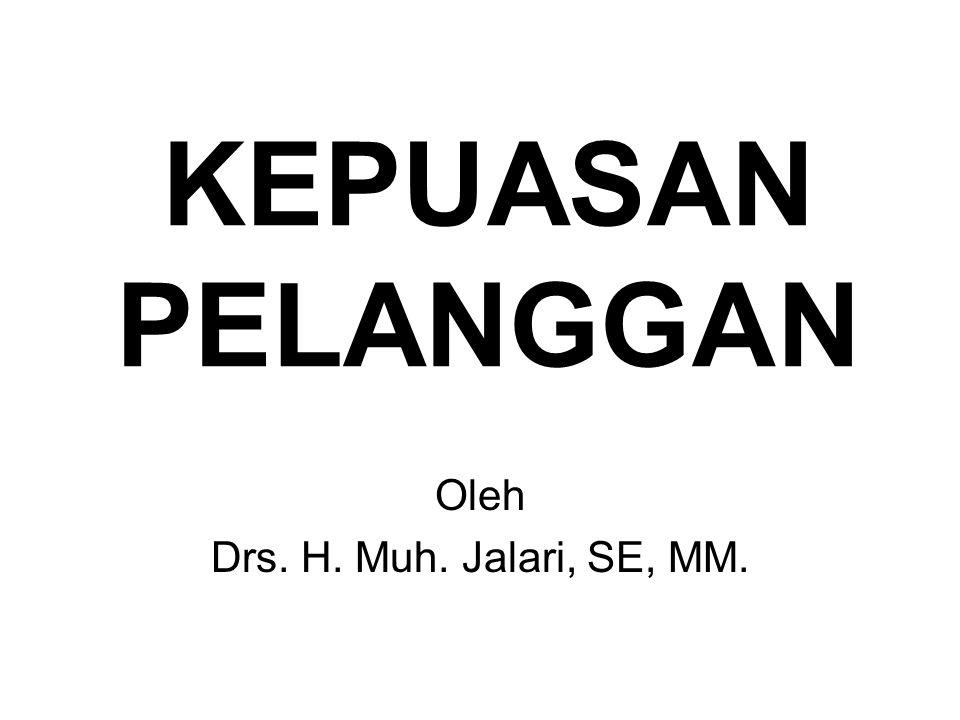 Oleh Drs. H. Muh. Jalari, SE, MM.